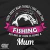 this mum loves fishig shirt for mums nanas grandma