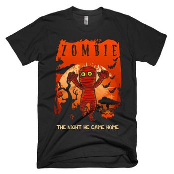 trick or treat scary halloween zombie t-shirt shirt gift mummy t-shirt