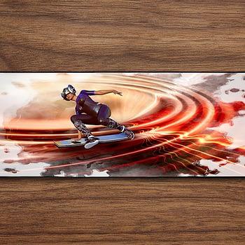 sci fi skateboard PC Gaming Mat PC Gaming Mouse Pad