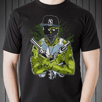 gangsta-zombie-halloween-zombie-T-shirt-thug life