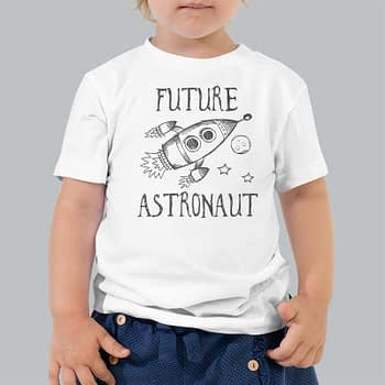 kids space t shirt future astronaut kids t-shirts tees