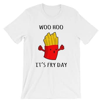 woohoo-is-fry-day-dark_mockup_Wrinkle-Front_White