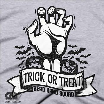 Halloween T-Shirt Trick or Treat Halloween Gift Shirt