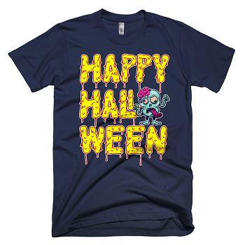 happy halloween skull clothing trick or treat 2017 2018 gift navy