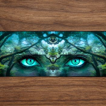 Forest Woman PC Gaming Mat PC Gaming Mouse Pad
