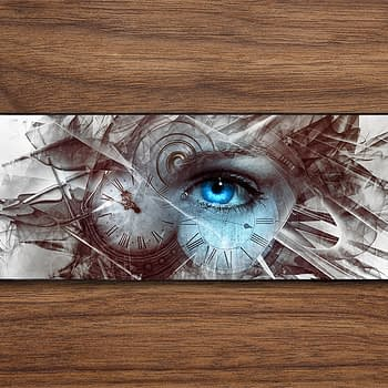 time fantasy steam punk PC Gaming Mat PC Gaming Mouse Pad