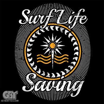 Surf life saving t-shirt