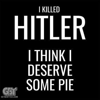 I Killed Hitler Supernatural T-shirt Dean Winchester