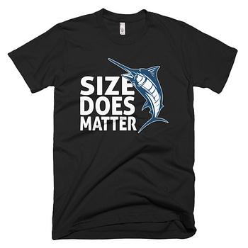 size matters fishing tshirt fishing gift dad christmas gift