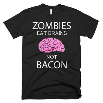 zombies eat brains funny humorous t-shirt halloween