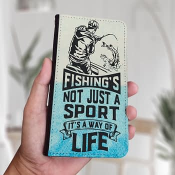 fishing isnt just a sport fishing iphone samsung phone case (2)