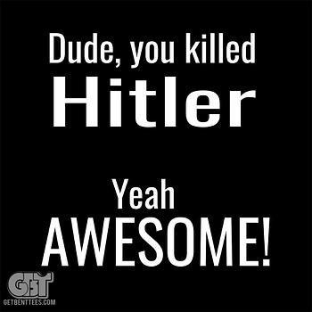 Dude You Killed Hitler supernatural T-Shirt I Killed Hitler Supernatural T-shirt Dean Winchester