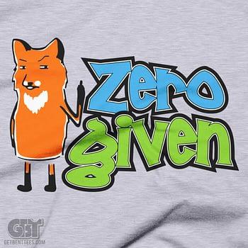 zero fox given fox t-shirt 2